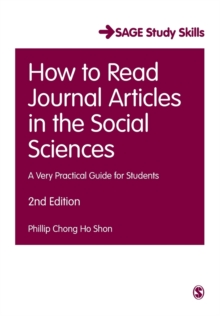 How to read journal articles in the social sciences  : a very practical guide for students