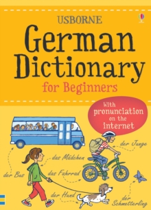Usborne German dictionary for beginners.