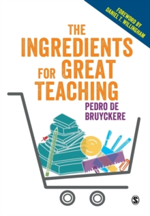 The ingredients for great teaching - De Bruyckere, Pedro
