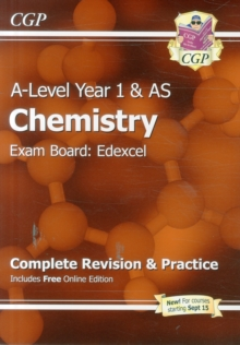 A-Level Chemistry: Edexcel Year 1 & AS Complete Revision & Practice with Online Edition