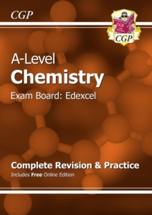 A-Level Chemistry: Edexcel Year 1 & 2 Complete Revision & Practice with Online Edition
