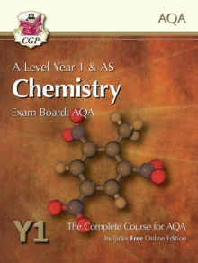 A-level year 1 & AS chemistry  : the complete course for AQA