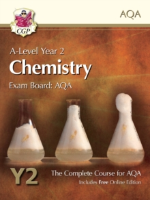 New A-Level Chemistry for AQA: Year 2 Student Book with Online Edition : The Complete Course for AQA