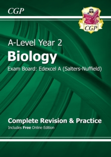 New A-Level Biology: Edexcel A Year 2 Complete Revision & Practice with Online Edition : Exam Board: Edexcel A (Salters-Nuffield)