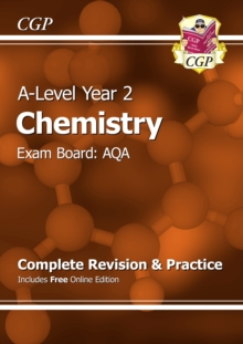 A-Level Chemistry: AQA Year 2 Complete Revision & Practice with Online Edition