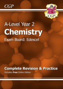 A-Level Chemistry: Edexcel Year 2 Complete Revision & Practice with Online Edition