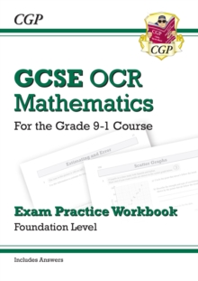 New GCSE Maths OCR Exam Practice Workbook: Foundation - For the Grade 9-1 Course (Includes Answers)