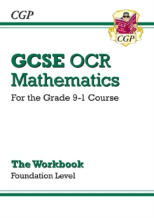 Image for New GCSE Maths OCR Workbook: Foundation - For the Grade 9-1 Course