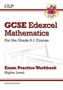New GCSE Maths Edexcel Exam Practice Workbook: Higher - For the Grade 9-1Course (Includes Answers)