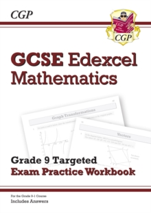 New GCSE Maths Edexcel Grade 8-9 Targeted Exam Practice Workbook (includes Answers)