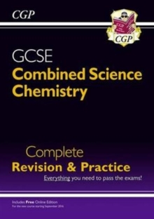 New Grade 9-1 GCSE Combined Science: Chemistry Complete Revision & Practice with Online Edition
