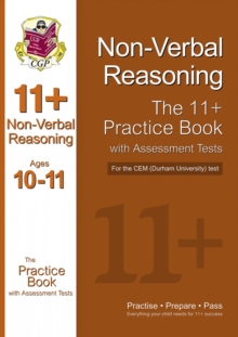 Image for 11+ Non-verbal Reasoning Practice Book with Assessment Tests (Age 10-11) for the CEM Test