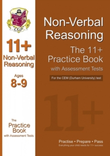 Image for 11+ Non-verbal Reasoning Practice Book with Assessment Tests (Age 8-9) for the CEM Test
