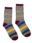 Image for Books Turn Muggles Into Wizards Socks 102