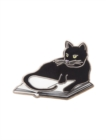 Image for Bookstore Cat Pins 1015E