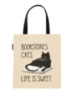 Image for Bookstore Cats Tote-1058