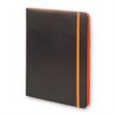 Image for Moleskine Bicolor Universal Tablet Case 9/10 Inches Black/orange