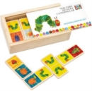 Image for HUNGRY CATERPILLAR WOODEN DOMINOES
