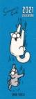Image for Simon's Cat Slim Calendar 2021