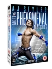 Image for WWE: AJ Styles - Most Phenomenal Matches