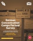 Image for German Concentration Camps Factual Survey
