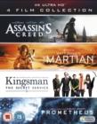 Image for Assassin's Creed/The Martian/Kingsman/Prometheus
