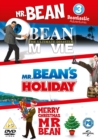Image for Mr Bean: The Ultimate Disaster Movie/Mr Bean's Holiday/Merry...