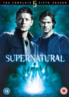 Image for Supernatural: The Complete Fifth Season