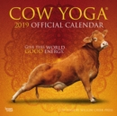 Image for COW YOGA 2019 SQUARE WALL CALENDAR