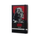 Image for Moleskine Large Star Wars Darth Vader Limited Edition Hard Ruled Notebook