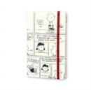 Image for Moleskine Large Peanuts White Limited Edition Hard Ruled Notebook