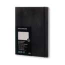 Image for 2017 Moleskine Extra Large Weekly Notebook 18 Month Diary Soft