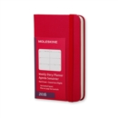 Image for 2016 MOLESKINE SCARLET RED EXTRA SMALL W