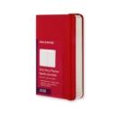 Image for 2016 MOLESKINE SCARLET RED POCKET DAILY