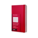 Image for 2016 MOLESKINE SCARLET RED LARGE DAILY D