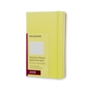 Image for 2016 MOLESKINE HAY YELLOW LARGE DAILY DI