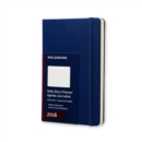 Image for 2016 MOLESKINE ROYAL BLUE LARGE DAILY DI