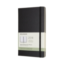 Image for 2018 Moleskine Large Weekly Notebook Diary 12 Months Hard
