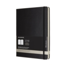 Image for 2018 Moleskine Pro Extra Large Weekly Vertical Diary 12 Months Hard