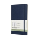 Image for 2019 Moleskine Notebook Sapphire Blue Large Weekly 18-month Diary Soft (July 2018 to December 2019)