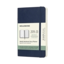 Image for Moleskine 18 Month Weekly Notebook Planner 2020 - Sapphire Blue