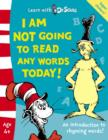 Image for I am not going to read any words today!