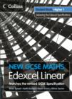 Image for New GCSE maths, Edexcel linear: Student book, Higher 1, delivering the Edexcel specification