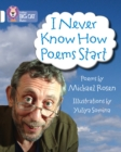 Image for I never know how poems start  : poems