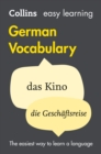 Image for Easy Learning German Vocabulary