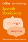 Image for Easy Learning Spanish Vocabulary