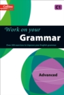 Image for Collins work on your grammar: Advanced C1