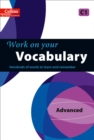 Image for Work on your vocabulary: Advanced C1