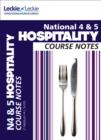 Image for National 4/5 hospitality course notes