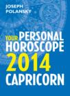 Image for Capricorn 2014: Your Personal Horoscope